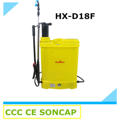 2 in 1 Knapsack Electric Agricultural Power Sprayer for Fram and Garden (HX-D18F)