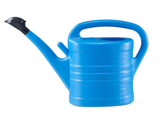 10L PE Watering Can for Garden and Irrigation