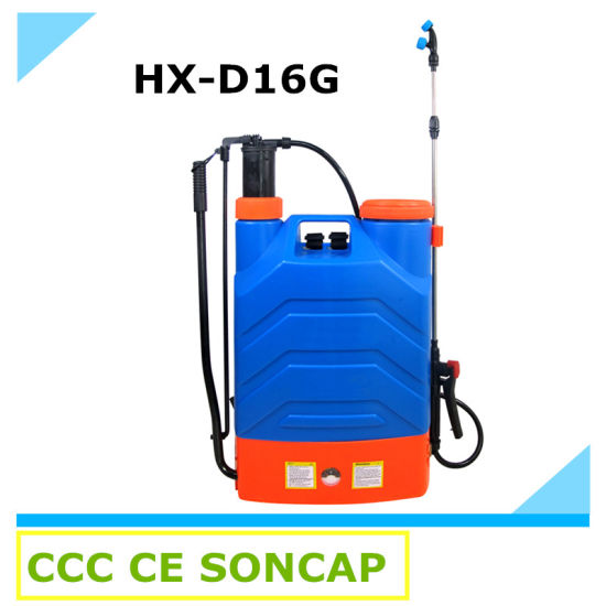 Agricultural 2 in 1 Hand and Electric Knapsack Power Sprayer (HX-D16G/18G)