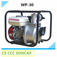6.5HP Gasoline Motor Agricultural Irrigation Water Pump Price List (wp-30)