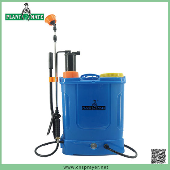 2 in 1 Electric Knapsack Sprayer 16L for Agriculture/Garden/Home (HX-D16K)