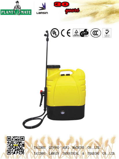 16L Electric Knapsack Sprayer for Agriculture/Garden/Home (HX-16A)