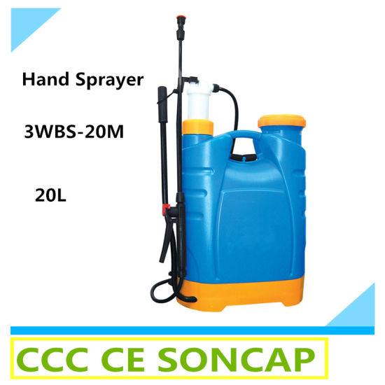 20L Bodiness Plastic Agricultural Knapsack Hand Sprayer (3WBS-20M)