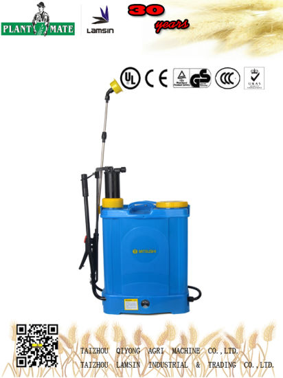 18L Manual Electric Knapsack Sprayer (HX-D18F)