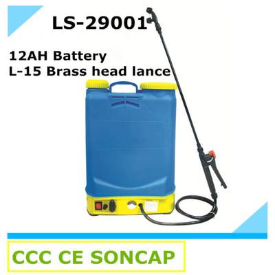 Classical 12ah Agricultural Electric Knapsack Power Sprayer Machince (LS-29001)