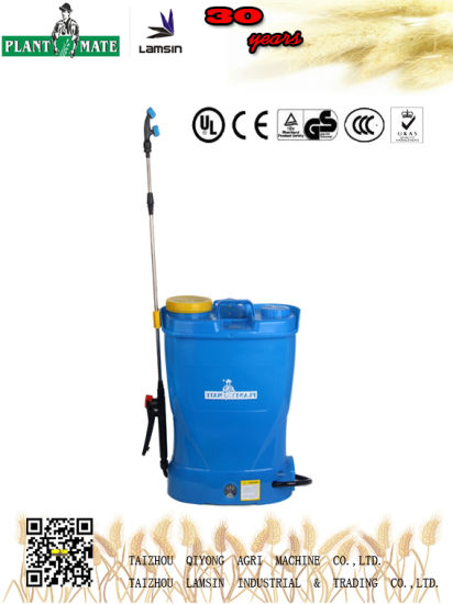 16L Electric Knapsack Sprayer for Agriculture/Garden/Home (HX-16D)